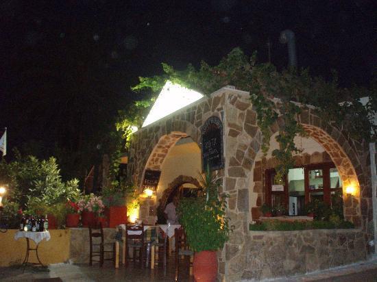 Manolis Taverna-Restaurant: OLD VILLAGE AGIA MARINA -MANOLIS TAVERNA