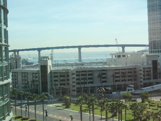 Hard Rock Hotel San Diego: The view from my room