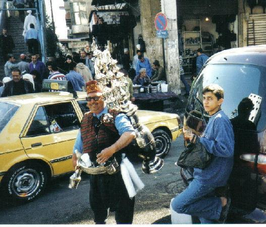 Waterseller Damascus Syria