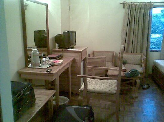 Hotel Greenwich Village: sitting area room 144