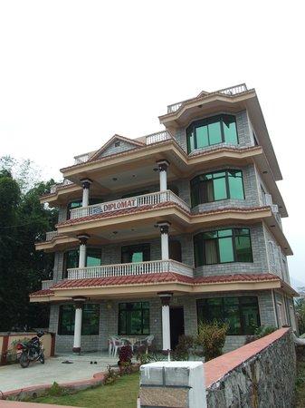 Hotel Diplomat: Buitenzijde