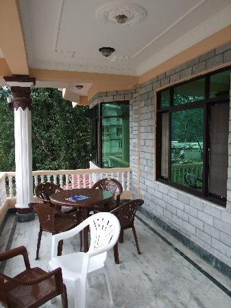Hotel Diplomat: Balkon
