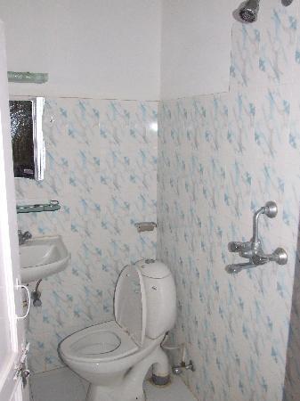 Hotel Diplomat: badkamer