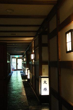 Tairanotakafusa: 廊下にも隠れ里の雰囲気が。