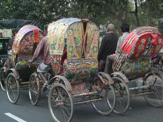 Daca (división), Bangladés: Rickshaws