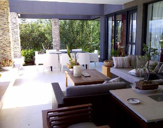 De Kelders Private Villa: Verandah