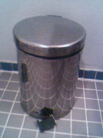 Hilton Cairo World Trade Center Residences: Dustbin with broken lever