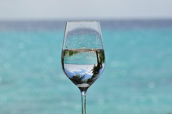 Robinson Club Maldives: レストランから