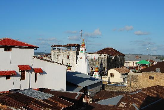 Clove Hotel: Blick von der Dachterrasse