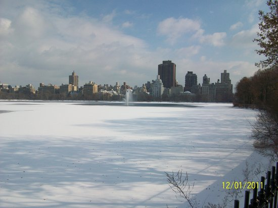 New York City, NY: Central Park Reservoir