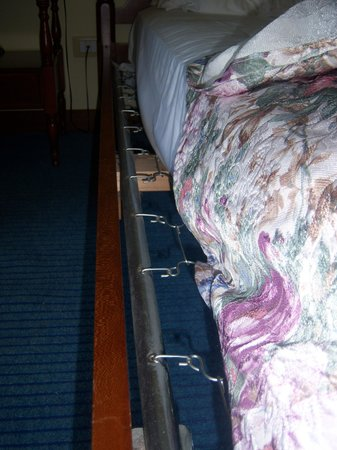 Hotel Palme & Suite : matelas trop court pour la taille du lit
