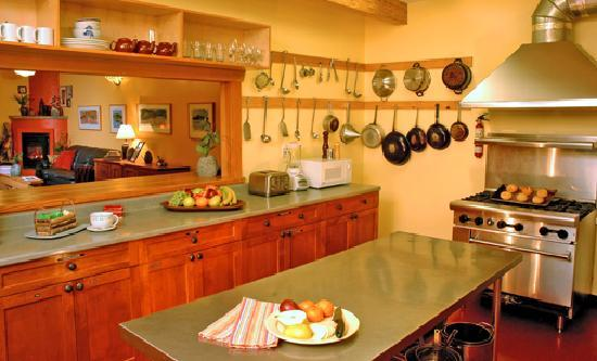 The Ecolodge at the Tofino Botanical Gardens: Our inspiring guest kitchen