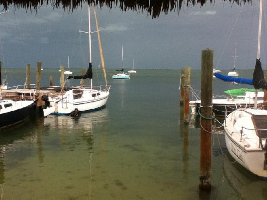 Key Lime Sailing Club and Cottages: What a view!