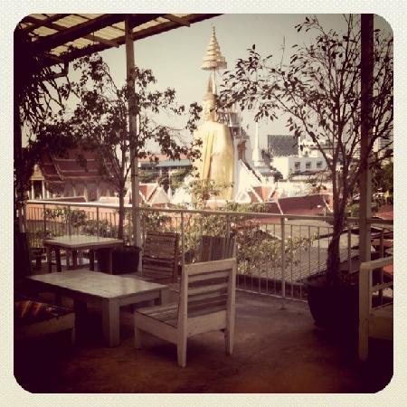 Phranakorn-Nornlen Hotel: Roof Garden