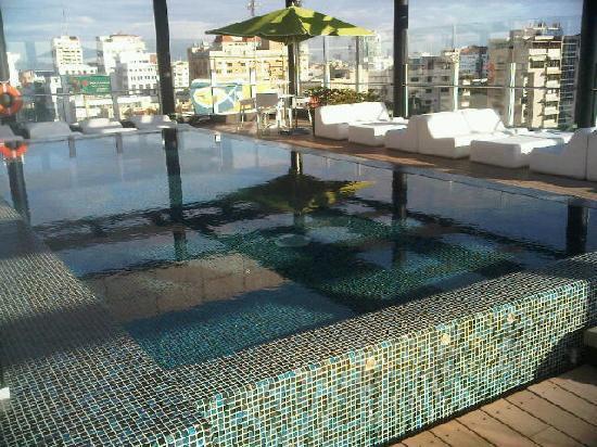 Holiday Inn Santo Domingo: The amazing pool!