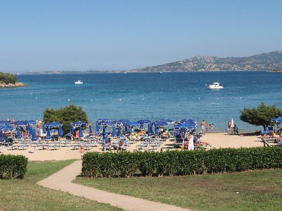 Residence Hotel Porto Mannu : vista spiaggia residence