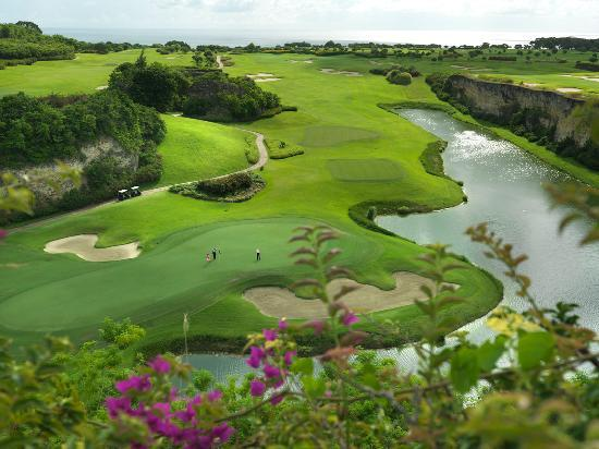 Saint James Parish, บาร์เบโดส: The Green Monkey golf course at Sandy Lane
