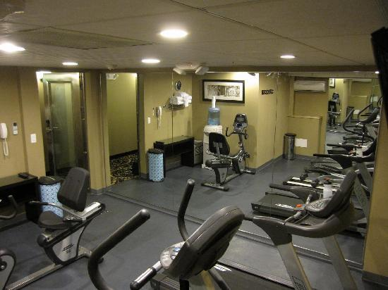 Envy Hotel: Exercise Room