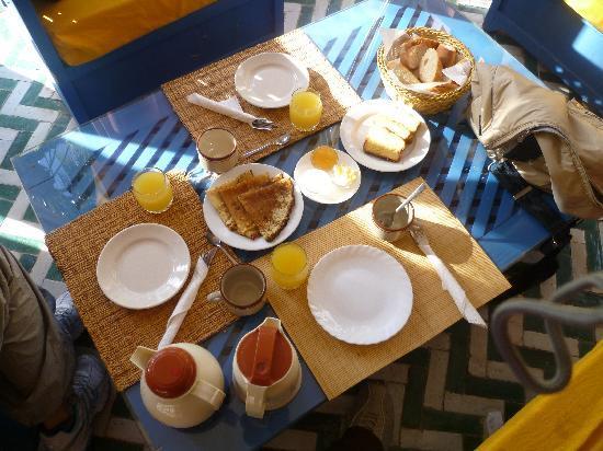 Villa Guest & Spa: la colazione di Fatima