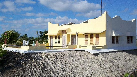 Hotel Cabanas Luna Maya: Owner's living quarters