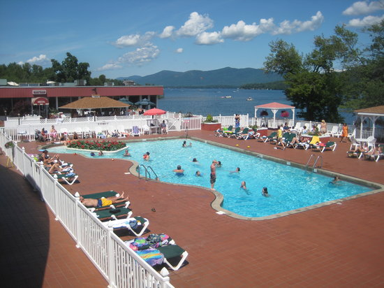 The Georgian Lakeside Resort: Lake George's Greatest Pool and Patio!