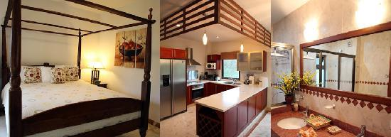 Encanto Paseo del Sol: All condos are fully equipped with kitchen, living, dining and sleeping areas.