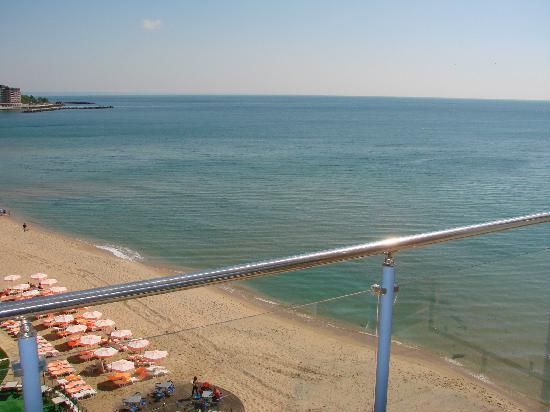 Azalia Hotel Balneo & SPA : View from the room terrace
