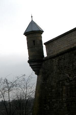 Ciudad de Luxemburgo, Luxemburgo: Türmchen der Vauban-Festung