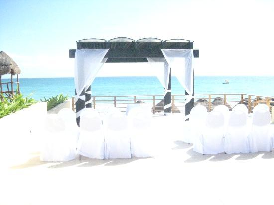 Now Jade Riviera Cancun The Wedding Area