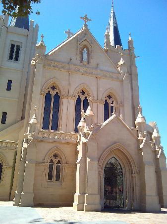 Perth, Australia: The Historic entry to the Cathedral