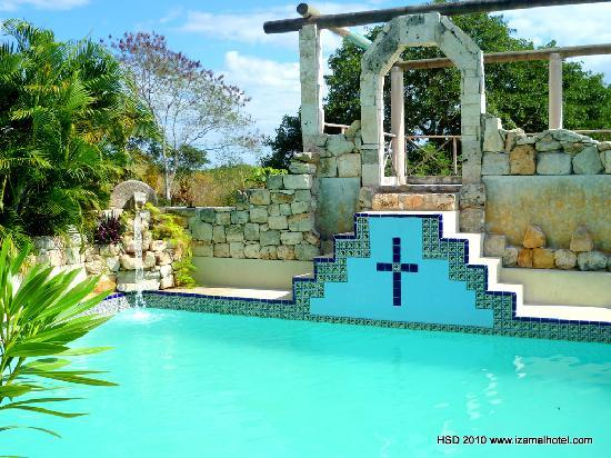 Hacienda Hotel Santo Domingo : MAYAN POOL