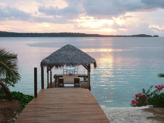 The Havannah, Vanuatu: The awesome pier
