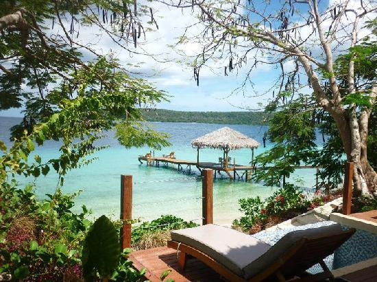 The Havannah, Vanuatu: View from our room