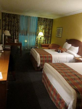 Landmark Amman Hotel & Conference Center: View of the room