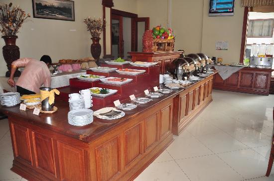 New Angkorland Hotel: restaurant