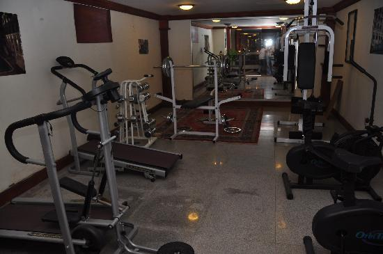 New Angkorland Hotel: gym
