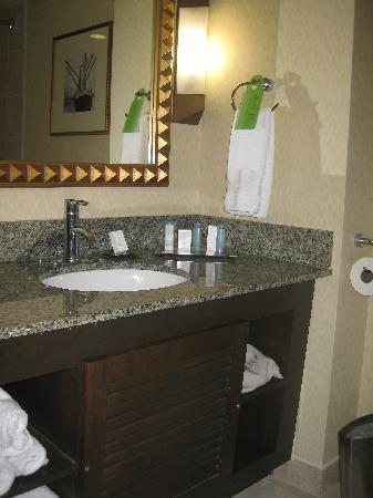 Hilton Stockton: Bathroom