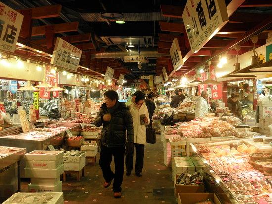 Auga: 地下一階の市場