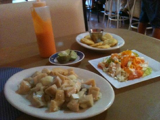 Brisas del Mar: Fresh Conch Salad
