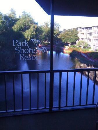Park Shore Resort: The view from our balcony