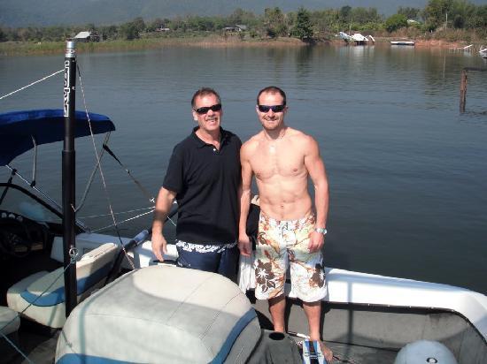 Planete Wakeboard : Daniel and my husband Eric