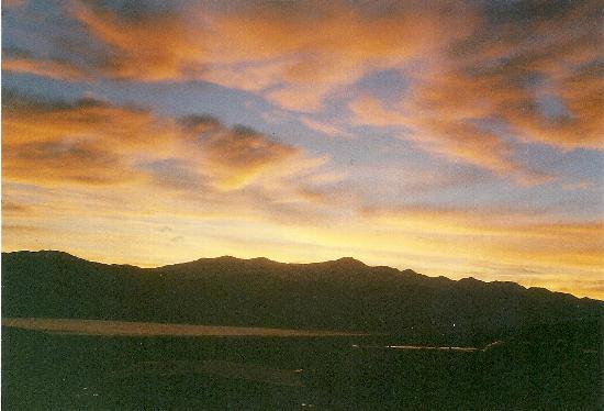 Sunrise from Panamint Springs Resort