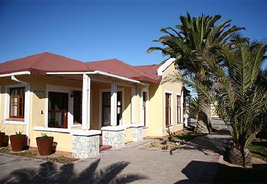 An old Swakopmund home was re-built to become Cornerstone Guesthouse