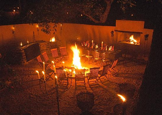 Notten's Bush Camp: Boma