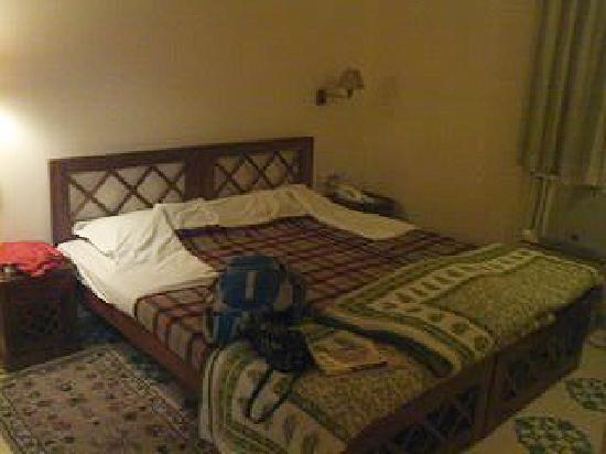 ホテル オム ニワス, 大きくて寝やすいベッド