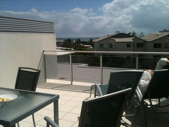 Coolum Seaside Resort: View from rooftop terrace