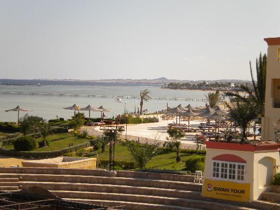 Blue Reef Red Sea Resort: teatro visto dalla nostra camera