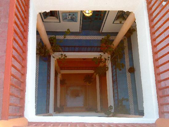Riad Marosko: les 3 étages vus de la terrasse