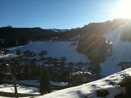 Chalet Chez Rose: View from Chalet