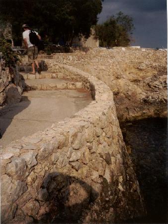 Hotel Bendinat: Dangerous steps